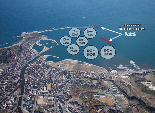 Overview of the Port of Wajima Breakwater Development Project